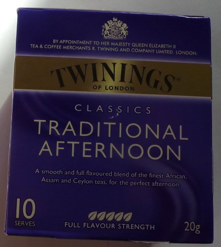 Twining'S Of London Classics Traditional Afternoon Tea, 10Ct
