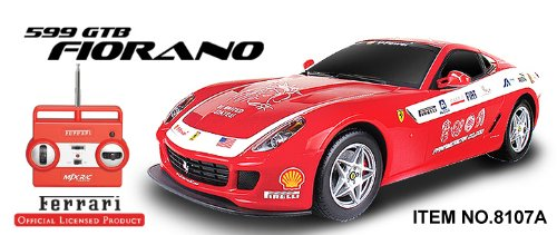1:20 Licensed Ferrari 599 GTB Fiorano PANAMERICAN RC CAR (Re-Chargeable) - READY TO RUN! 4 Band Full Function Radio Control that can run 4 cars at the same time!!  Review