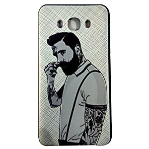 Genric Premium Quality Printed Soft Back Cover Case For Samsung Galaxy J7 (2016 Edition)