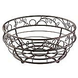InterDesign Twigz Fruit Bowl for Kitchen Countertops - Bronze
