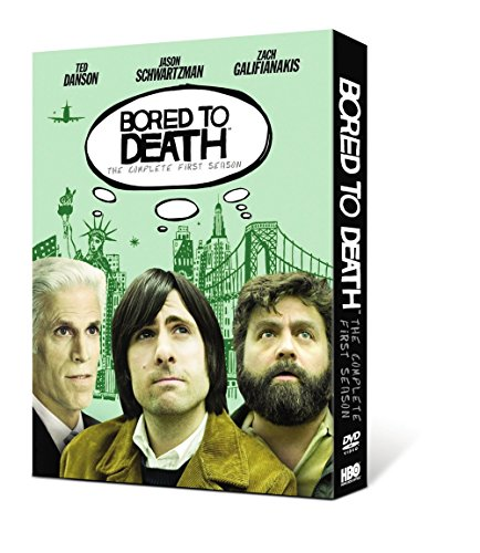 DVD : Bored to Death: The Complete First Season (, Digipack Packaging, Slipsleeve Packaging, Widescreen, 2 Disc)