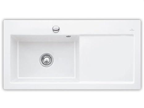 Villeroy Boch Subway 60 &XL Alpine White Ceramic Sink Kitchen Bathroom Sink