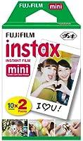 Fujifilm Instax MINI FILM 10 F. 2 Pack Pellicola Instantanea per Instax MINI 7S, MINI 25 e  Mini 50S