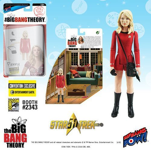 The Big Bang Theory/TOS Penny 3 3/4-Inch Figure - Con. Excl.