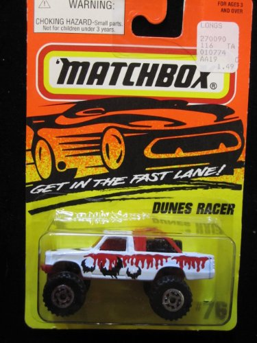 Dunes Racer Pick-up Truck Matchbox Super Fast Series #76