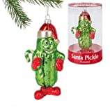 Accoutrements Santa Pickle Ornament