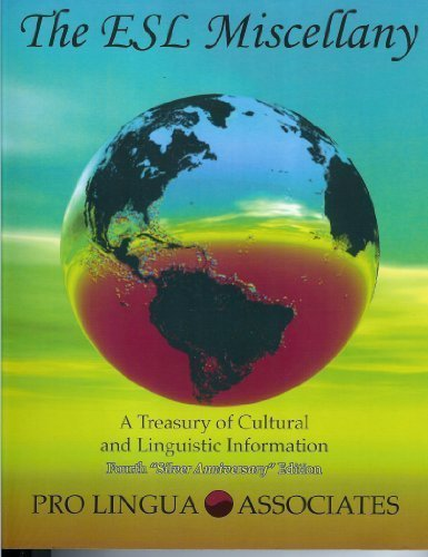 The ESL Miscellany: A Treasury of Cultural and Linguistic...