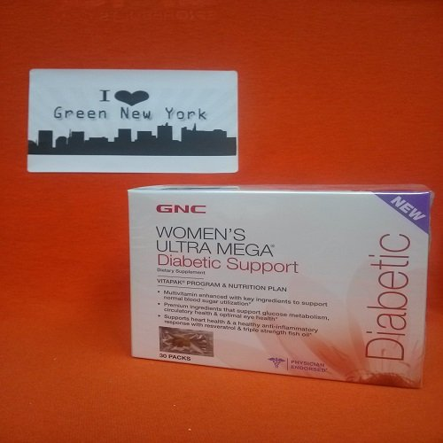 Gnc Womens Ultra Mega Diabetic Support Vitapak