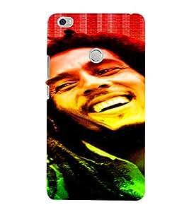 PrintVisa Bob Marley Colour Tone Design 3D Hard Polycarbonate Designer Back Case Cover for Xiaomi Max