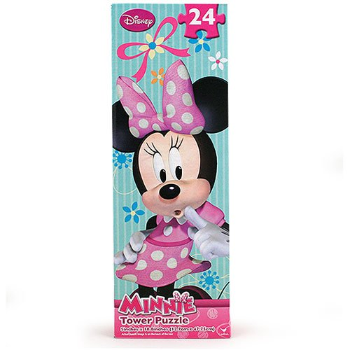 Minnie Mouse Bowtique 24 Piece Tower Puzzle - Assorted Styles - 1