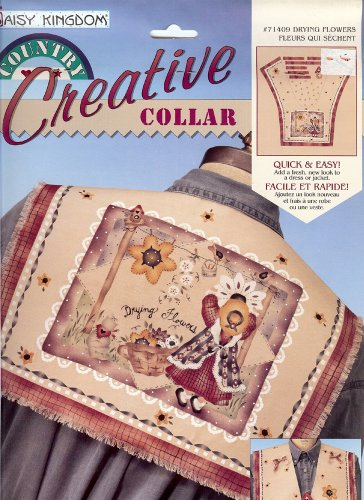 Daisy Kingdom Country Creative Collar #71409 Drying Flowers