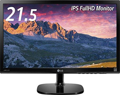 LG 22MP48HQ-P ディスプレイ・モニター 21.5インチ/IPS(非光沢)/フルHD/HDMI