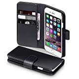 Mysterious iPhone 6 Case Terrapin [GENUINE LEATHER] iPhone 6 Case Executive [Black] Premium Wallet Case with Card Slots… Ads Revise