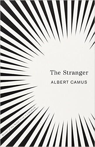 The absurd in the stranger by albert camus