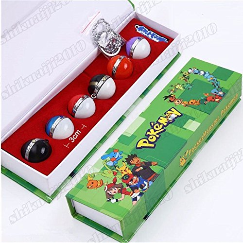 7pcs Set Cosplay Props Toys Gift New in Box ()