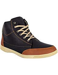 Izor Men's Synthetic Leather Casual Shoes For Men & Boys