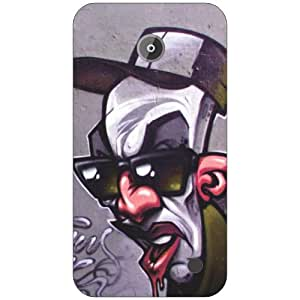 Nokia Lumia 630 hatted man Phone Cover - Matte Finish Phone Cover