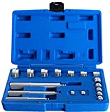 Ztech 17PCS Auto Bearing Race Seal Driver Disc Tool Master Set Wheel Axle Bushing W/ Case