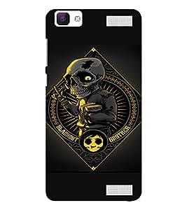 EPICCASE Creepy school boy Mobile Back Case Cover For Vivo V1 Max (Designer Case)