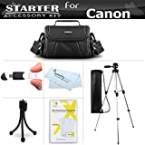 Starter Accessories Kit For The Canon Powershot SX400 IS, SX410 IS, SX420 IS Digital Camera Includes Deluxe Carrying...