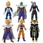 6x Anime Dragon Ball Characters With...