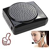 AGPTek® 10W Altavoz Micrófono Amplificador Mini megáfono portable para Enseñanza y Guía de Turismo y Promoción de Ventas y Ejercicio de la mañana