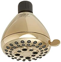 Delta 75555PB Universal Showering Components 5 Setting Showerhead, Polished Brass