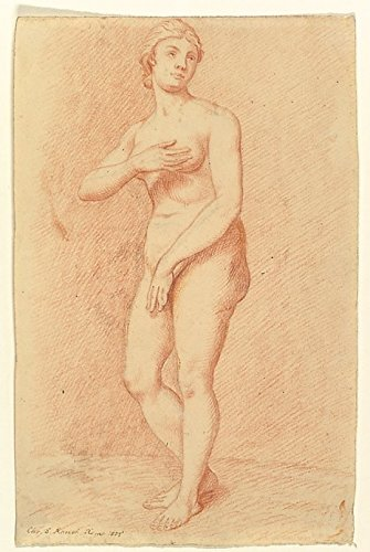 Standing Female Nude (after the Medici Venus) Poster Print by Christian Daniel Rauch (German Arolsen 1777-1857 Dresden) (18 x 24)