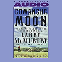 Comanche Moon Audiobook by Larry McMurtry, Frank Muller