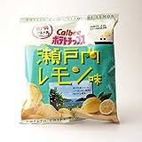 カルビー ポテトチップス 瀬戸内レモン味 438