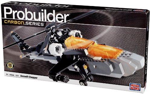 Mega Blocks Pro Builder  Carbon Series Assault  Chopper