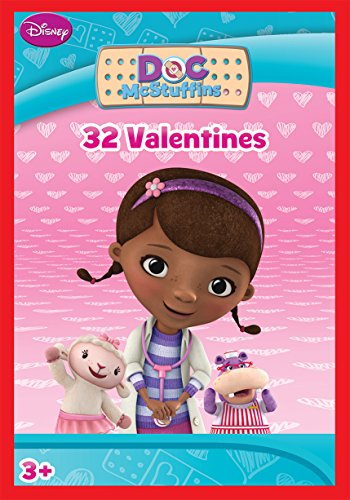 Paper Magic 32CT Showcase Doc McStuffins Kids Classroom Valentine Exchange Cards