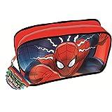 La caja de lápiz del PVC del hombre araña