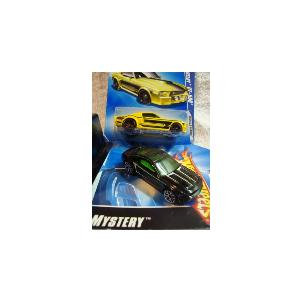 Hot Wheels Shelby, Mustang Set The Mystery Mustang Black