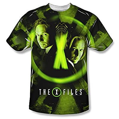 X Files Trust No One All Over Print Front T-Shirt