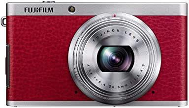 Fujifilm XF1 12 MP Digital Camera with 3-Inch LCD Screen (Red)