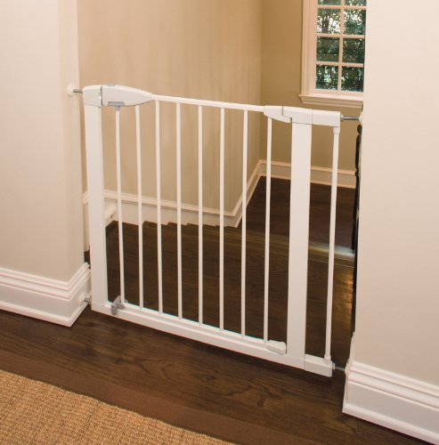 Munchkin Easy-Close Metal Gate, White