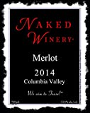 "2014 Naked Winery ""Naked"" Columbia Valley Merlot 750 mL"