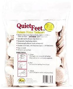 "Master 88847 Quiet Feet Deluxe Noise Reducers, 1.25"" Diameter, 100-Pack, Beige"