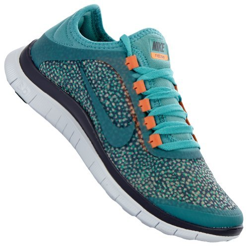 Nike Free 3.0 V5 EXT Women Laufschuhe iron orwd-diffused jade-medium orwd brown-at- 36