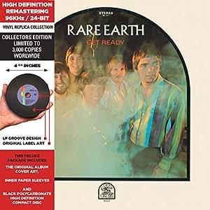 Get Ready - Cardboard Sleeve - High-Definition CD Deluxe Vinyl Replica