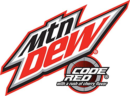 Pepsico Mountain Dew Code Red Cans 12 Count Food