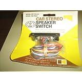1970 Kustom Kreations, Inc. Car Stereo Speaker Switch Model 422 Black ~ Kustom Kreations, Inc.