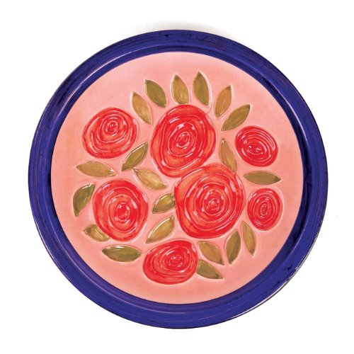 Achla Designs Pink Roses Bowl (Discontinued by Manufacturer)