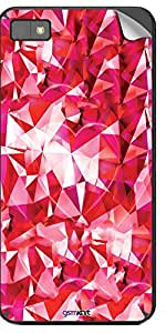 GsmKart BZ10 Mobile Skin for Blackberry Z 10 (Pink, Z 10-338)