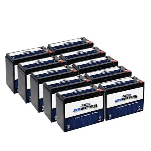 12V 10Ah Sla Battery For Electric Scooter Schwinn S180 / Mongoose - 10Pk