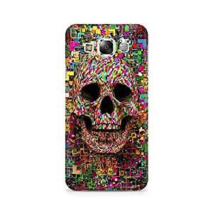 Mobicture Skull Abstract Premium Printed Case For Samsung Grand 2 G7106