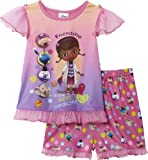 Disney Doc McStuffins Toddler Girl's 2 Piece Shirt & Short Pajama Set