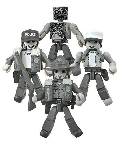 Diamond Select Toys The Walking Dead Minimates: Days Gone Bye B&W SDCC 2014 Exclusive Box Set