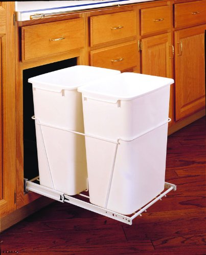 Rev-A-Shelf - RV-18PB-2 S - Double 35 Quart Pullout Waste Containers